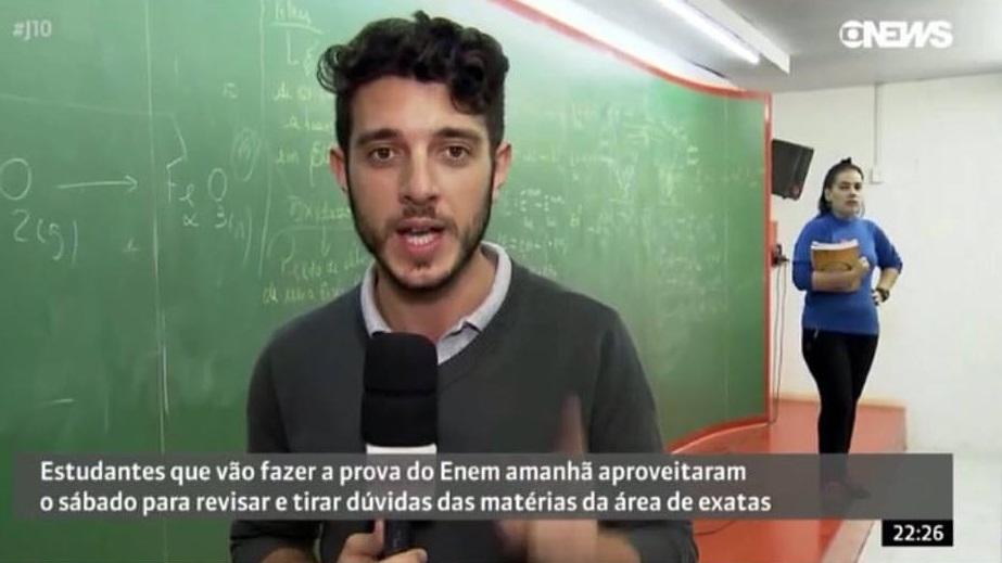 Globo News – A segunda prova do ENEM