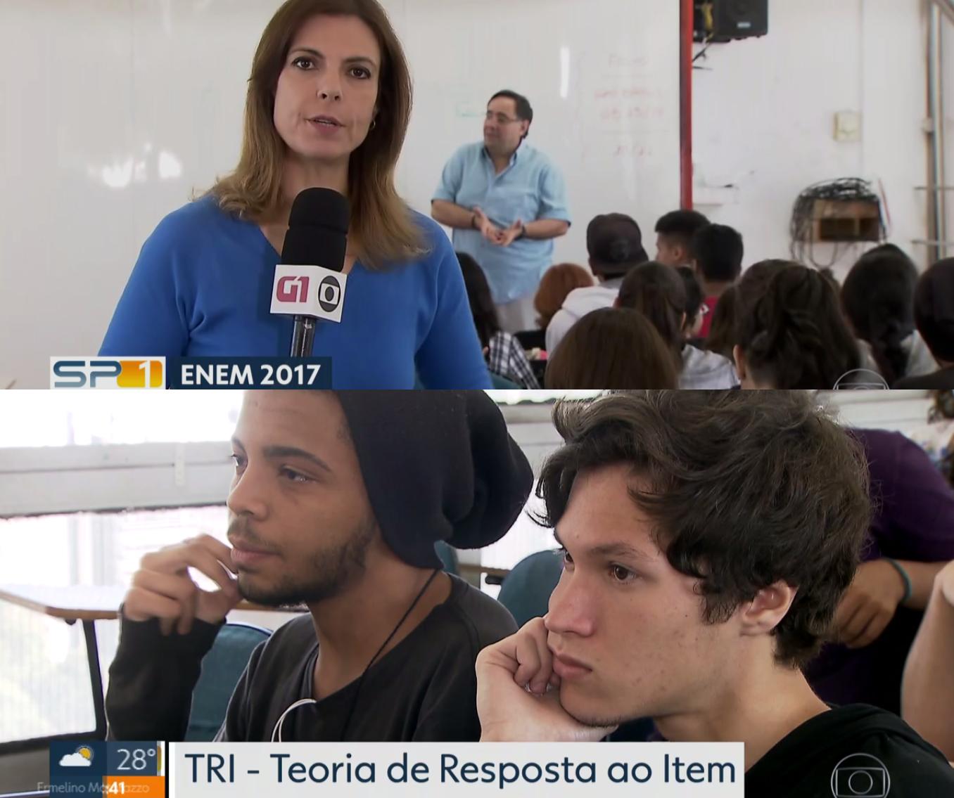 Tv Globo – O cálculo da nota do ENEM