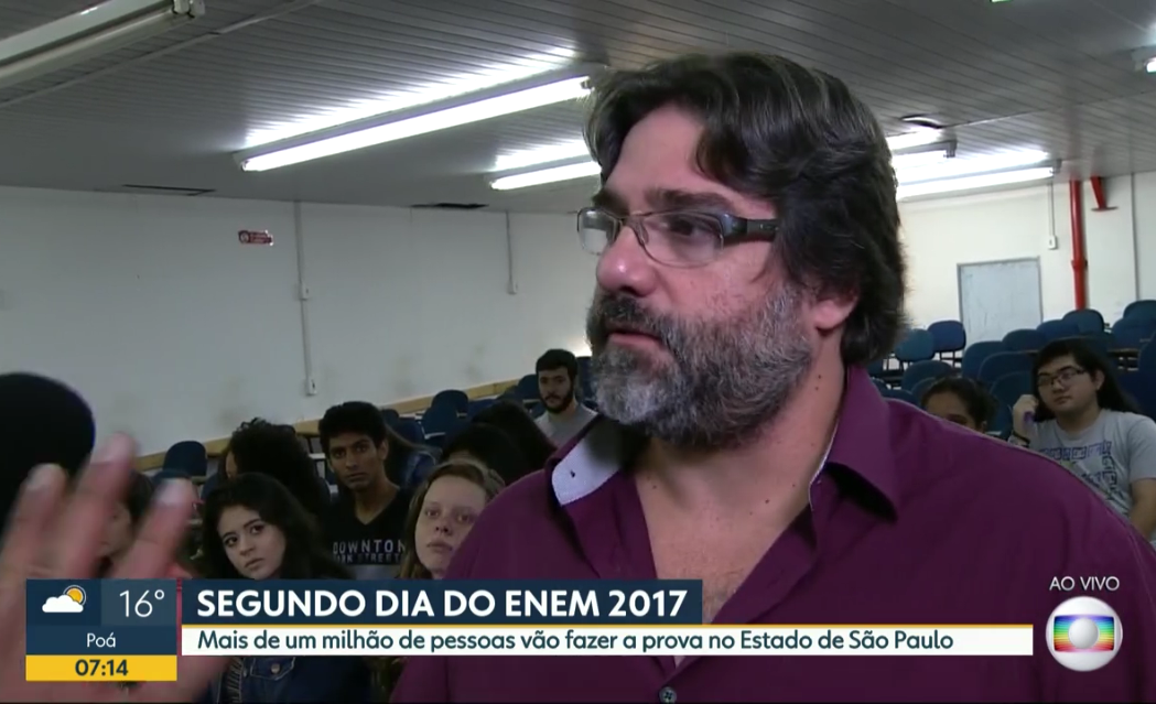 Tv Globo – 2° dia do ENEM 2017