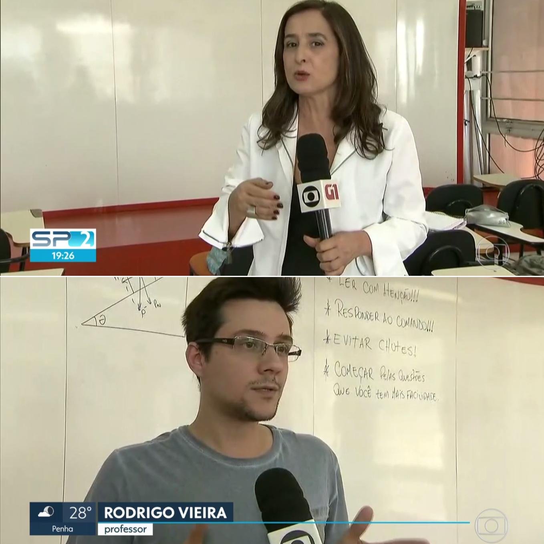 Tv Globo – Sptv destaca motivos de eliminação no ENEM