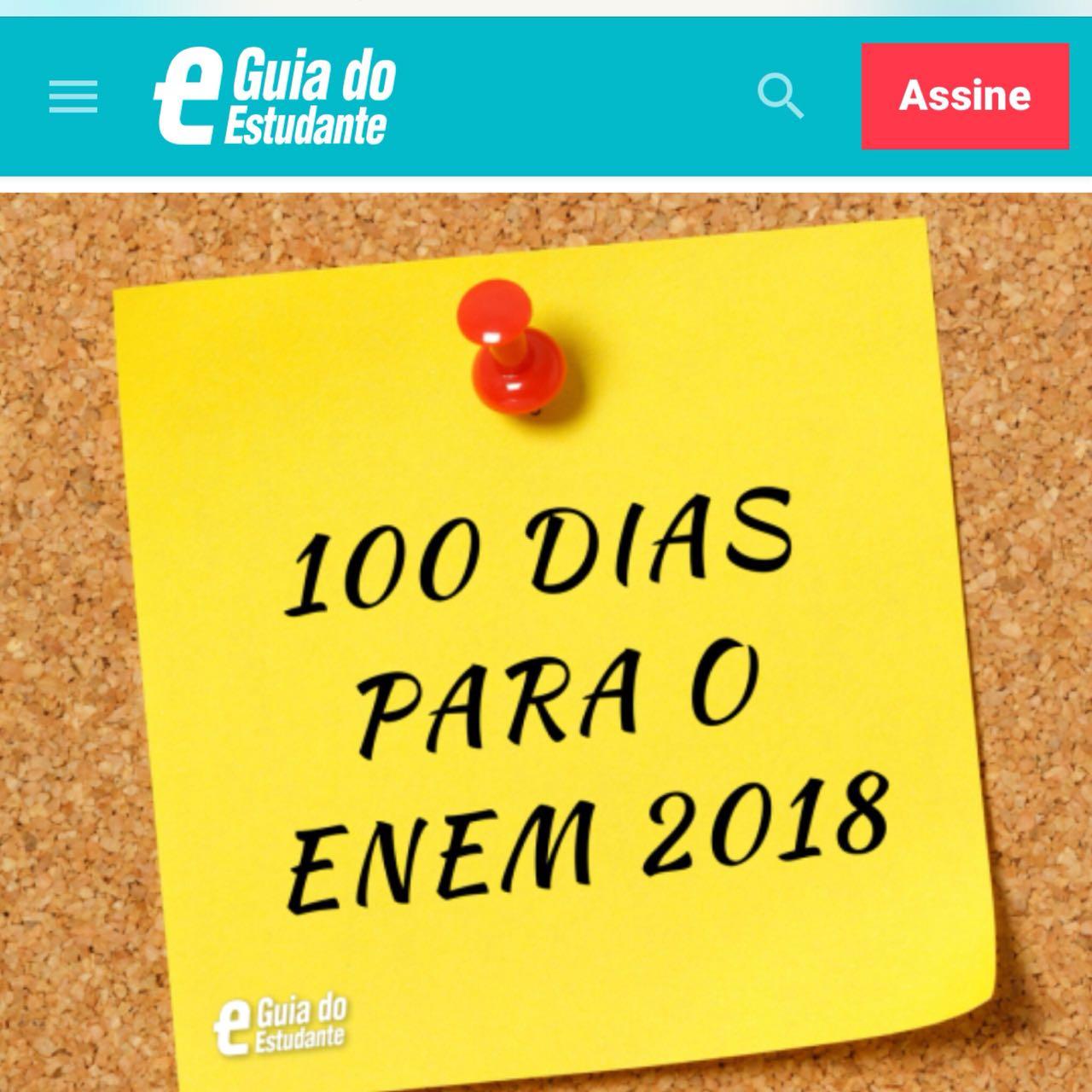 Guia do Estudante – Como estudar faltando 100 dias para o ENEM